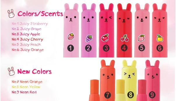 [Tony Moly] Petite Bunny Gloss Bar