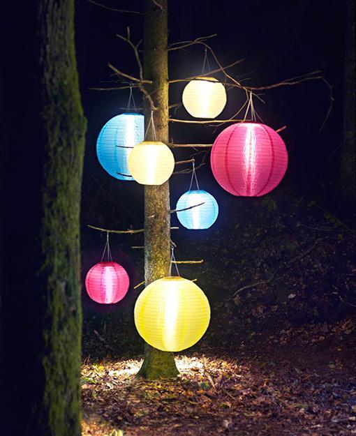 farolillos para iluminar el exterior paperblog