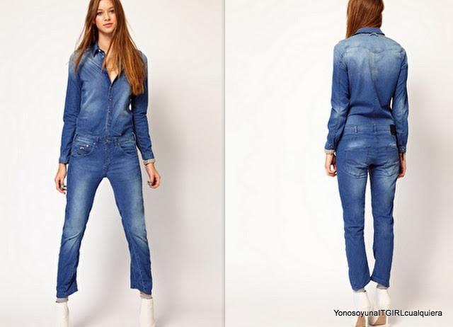 G-Star denim jumpsuit