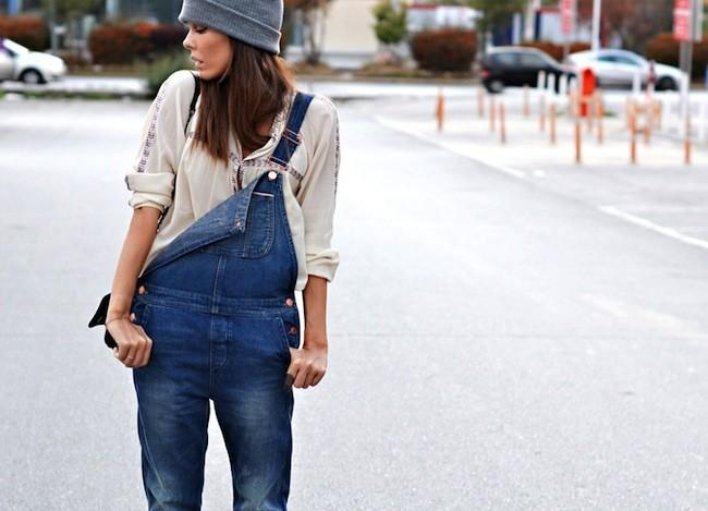 TRENDS: Denim dungarees and jumpsuits