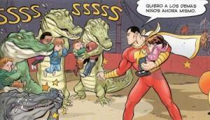 Shazam! La monstruosa sociedad del mal  viñeta