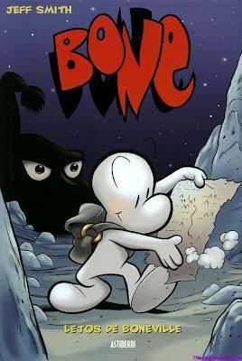 bone jeff smith portada cómic