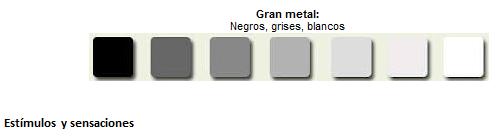 Gama de grises para tus paredes paperblog - Gama de colores grises ...