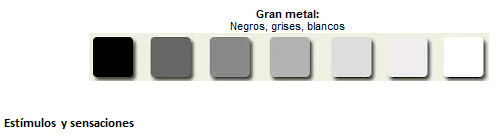 Gama de grises para tus paredes paperblog - Gama de colores blanco roto ...