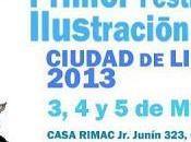"""Programa actividades, Festival Dibujo, Historieta Ilustración """"Ciudad Lima"""""""