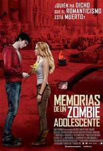 Cartel de Memorias de un zombie adolescente