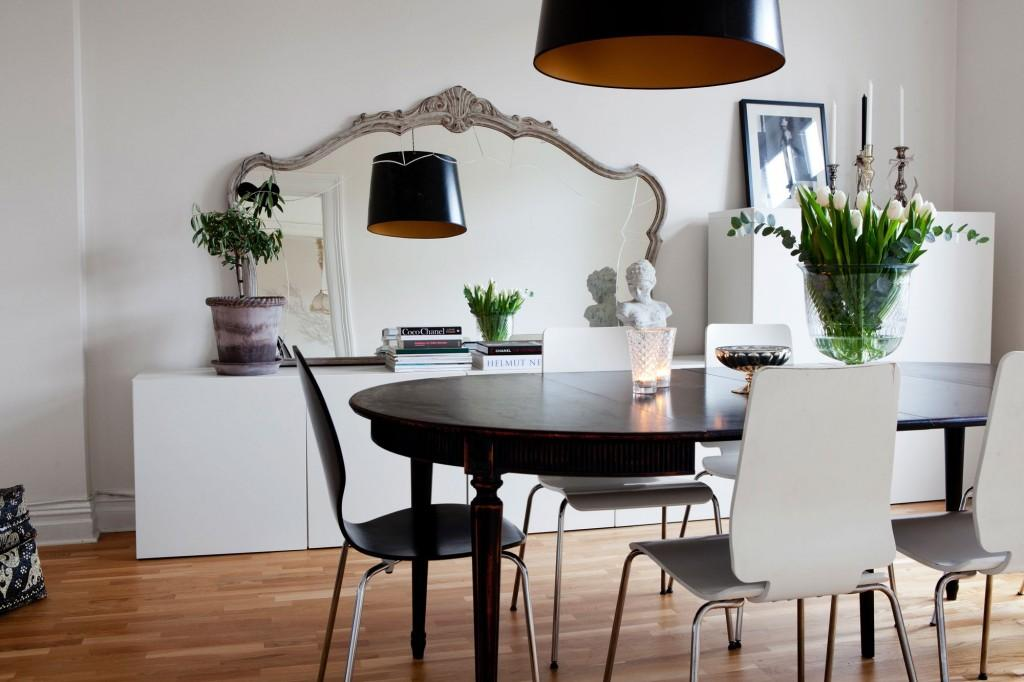 Un espejo en el comedor paperblog for Espejos horizontales para comedor