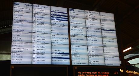 Horarios de trenes