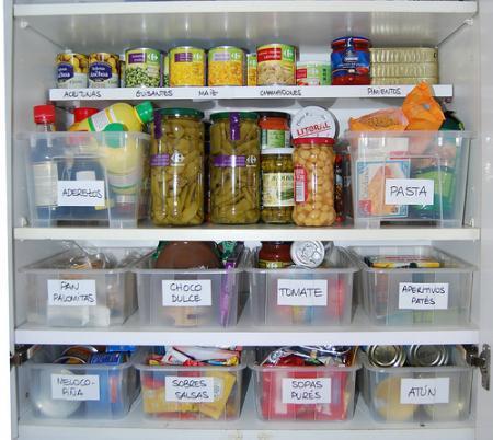 Ideas para tener ordenada la cocina ii paperblog for Organizar armarios cocina