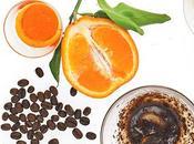 Exfoliante corporal café cáscara naranja