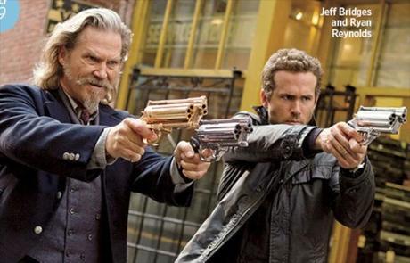 Tráiler y cartel de 'R.I.P.D.: Departamento de Policía Mortal', con Ryan Reynolds y Jeff Bridges