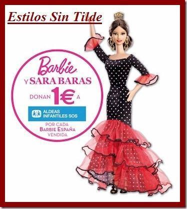 barbie sara baras thumb La muñeca Barbie España colabora con Aldeas Infantiles