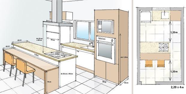 Cocinas pequeñas con islas - Paperblog
