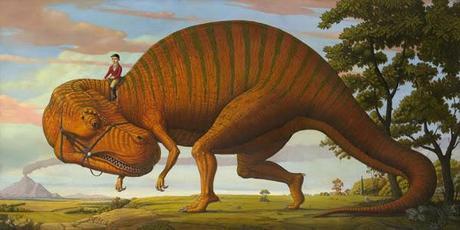 Los refinados dinosaurios de Marc Burckhardt