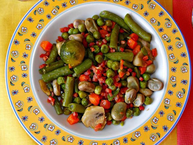 Menestra de verduras con taquitos de jam n paperblog - Como preparar menestra de verduras ...