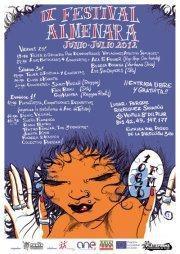 Cartel del IX Festival Radio Almenara (Foto: Facebook de Radio Almenara)
