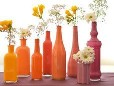 DIY: jarrones colores