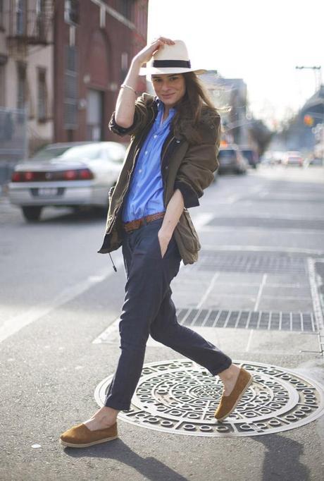 She is... Marina Muñoz, the model turned stylist