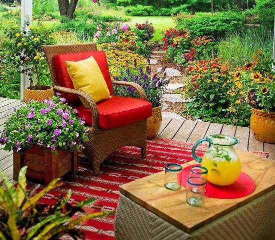 Ideas para organizar el balcon