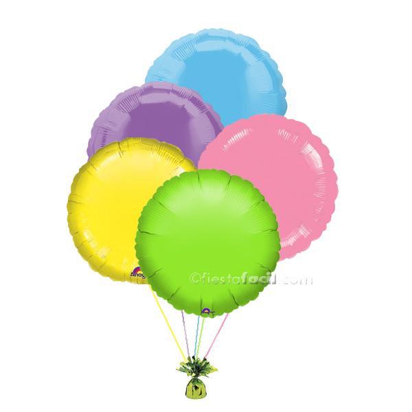 globos helio para fiestas