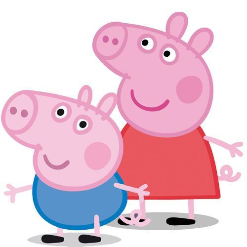 decoración para una fiesta Peppa Pig