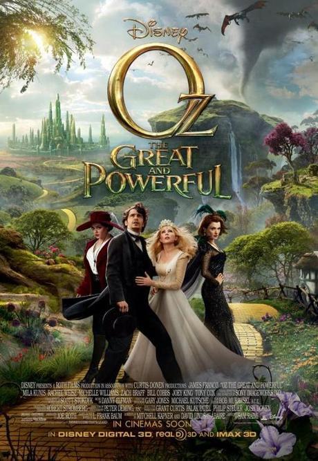 Oz un mundo de fantasia poster final