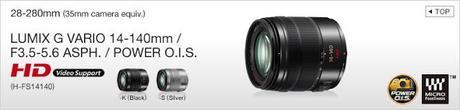 Panasonic G6, Panasonic, G6, LF1, 14-140mm f/3.5-5.6