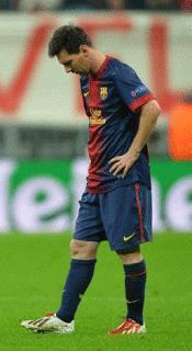 Messi sálvese quien pueda