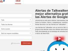 ¿Cansados Alertas Google? TalkWalker Alerts buena alternativa