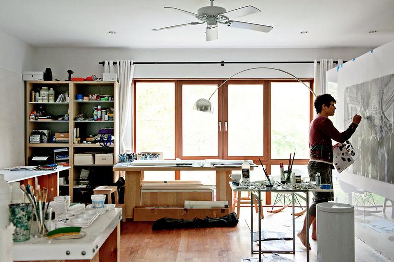 El taller de pintura en pleno centro de brooklym paperblog for Taller decoracion de interiores