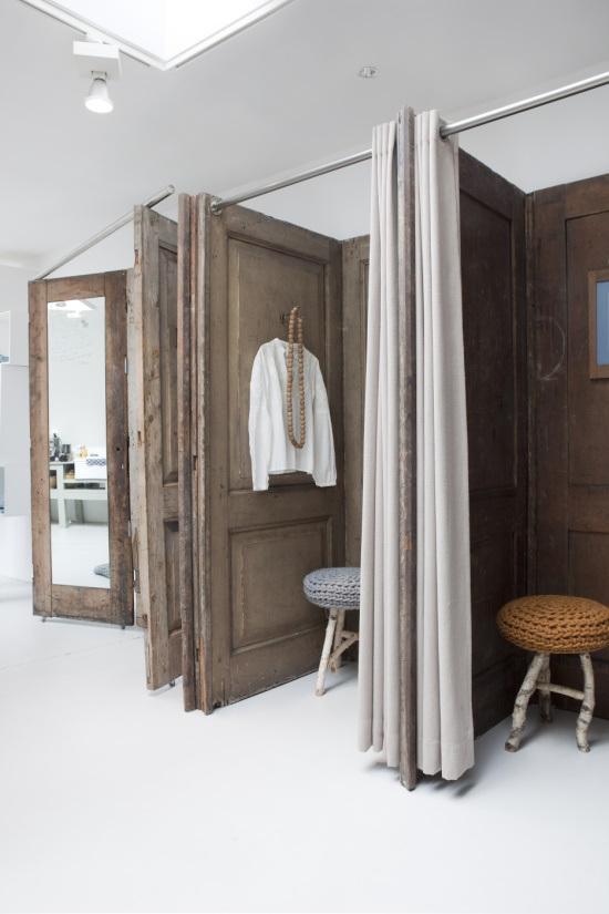 Reutilizar puertas de madera antiguas paperblog - Puertas madera antiguas ...