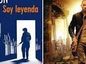 'Soy leyenda', Richard Matheson (libro) Francis Lawrence (película)