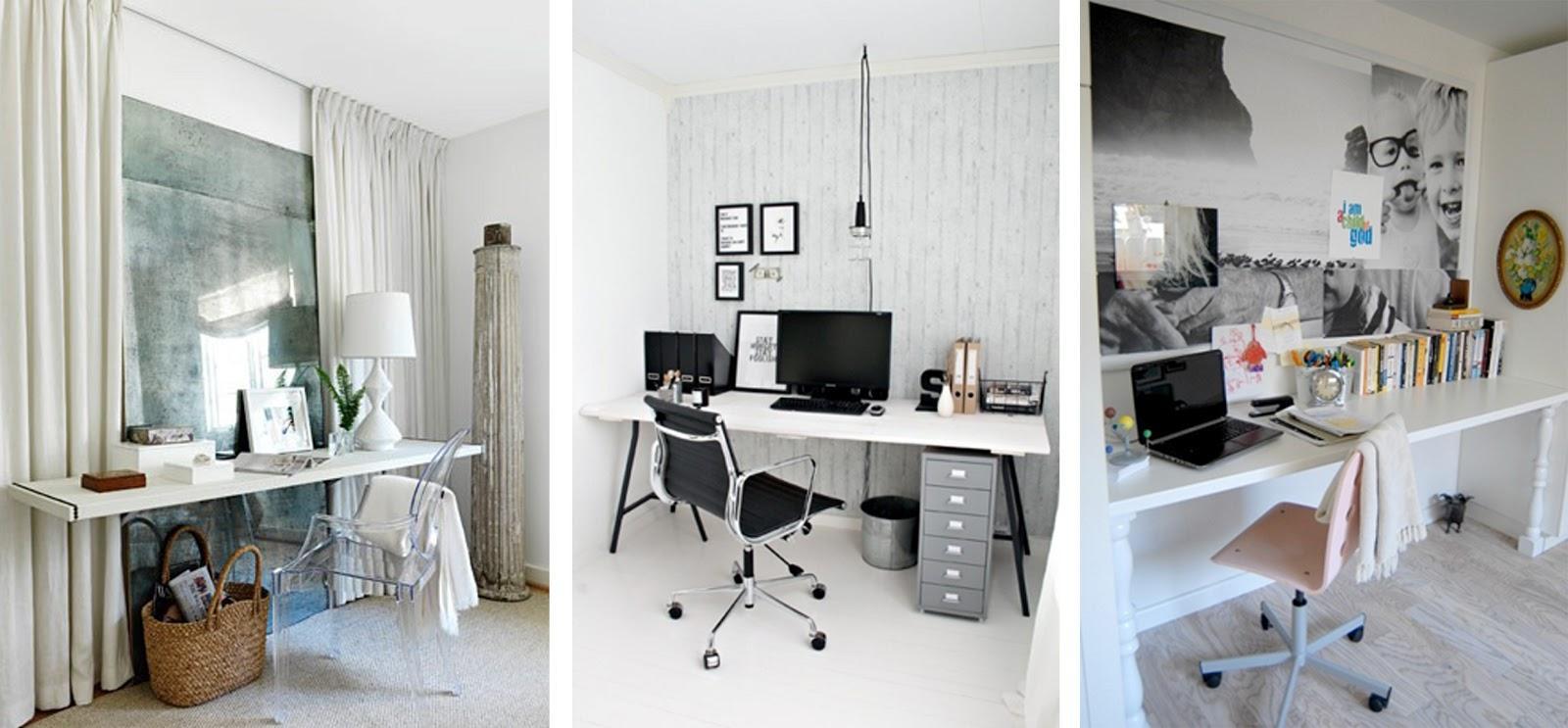 Un espacio de trabajo en casa paperblog - Decorar despacho pequeno ...