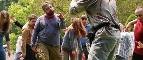 Los zombies de primera clase caminan en filmin
