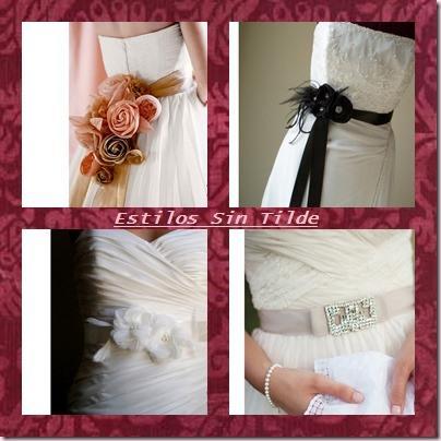 cinturones para vestidos de novia - paperblog
