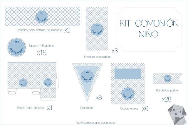 Kits Personalizados para Comuniones - Paperblog