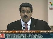 Maduro: alianza estratégica Venezuela Cuba continuará