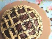 Tarta chocolate crema café acompañada personas agradable Love Lemonade