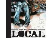 """Local"", Brian Wood Ryan Kelly. mapa vida"