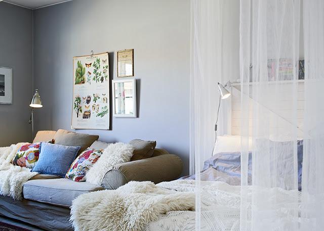 Separar ambientes con cortinas paperblog for Cortinas para separar ambientes