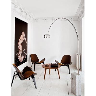 l mpara arco por achille y castiglioni paperblog. Black Bedroom Furniture Sets. Home Design Ideas