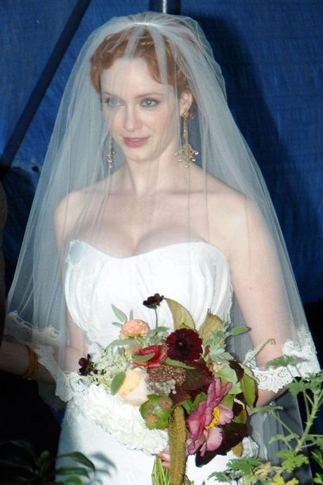 La boda de Christina Hendricks