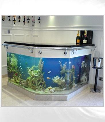 Acuarios incorporados a la decoraci n paperblog for Louisiana fish bar