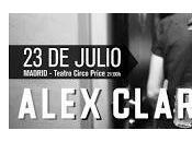 Alex Clare actuará primera España julio Madrid