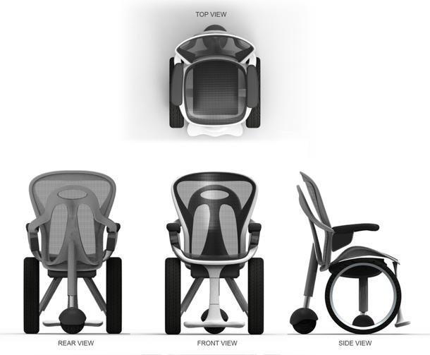 Una silla de ruedas inspirada en un audi paperblog - Una silla para ...