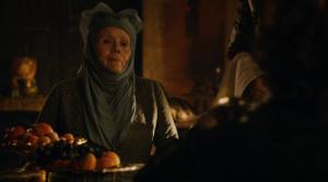 Lady Olenna es la Reina de las Espinas de la Casa Tyrell