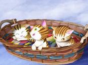 Ilustración: Gatitos cesta