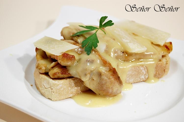 C mo hacer la salsa de mostaza y miel f cil tosta de pollo con salsa de mostaza y miel y lascas - Como se hace pollo en salsa ...