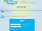 Como cambiar Skype