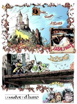 la  nieve y el barro abulí y oswal página cómic